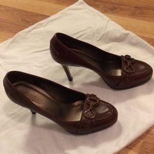 Talbots high heel loafers